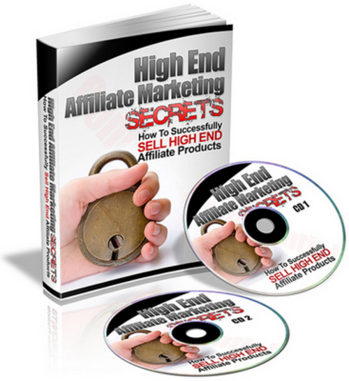 Product picture High End Affiliate Marketing Secrets