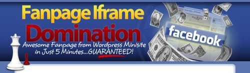 Product picture Fanpage Iframe Domination - WP Theme for Facebook Fanpage