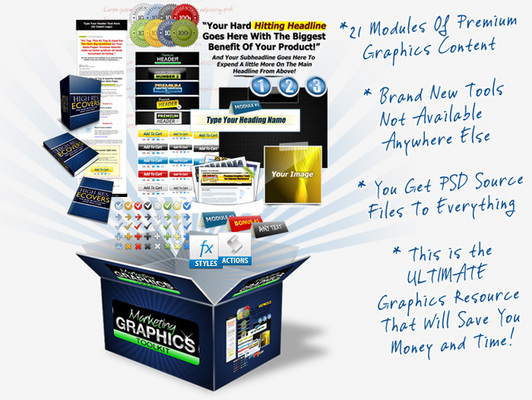 Product picture Marketing Graphics Toolkit * GREAT PRODUCTS*