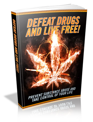 Product picture Defeat Drugs And Live Free PLR MRR